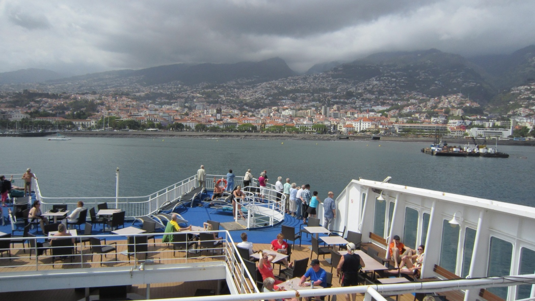 IS 20110523 Funchal, Madeira Portugali. Korikelkka Kuva: Tiina Vahtera