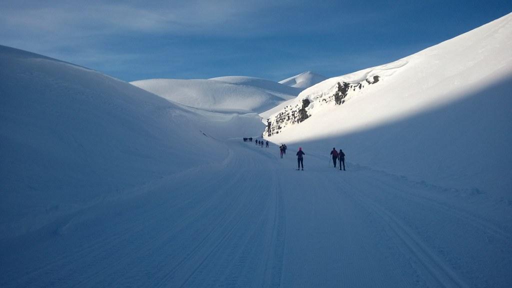 Svalbardin hiihtomaraton on käytävä kerran elämässä. Mies pääsi sinne jo. kuva: Patrick Pitkänen)
