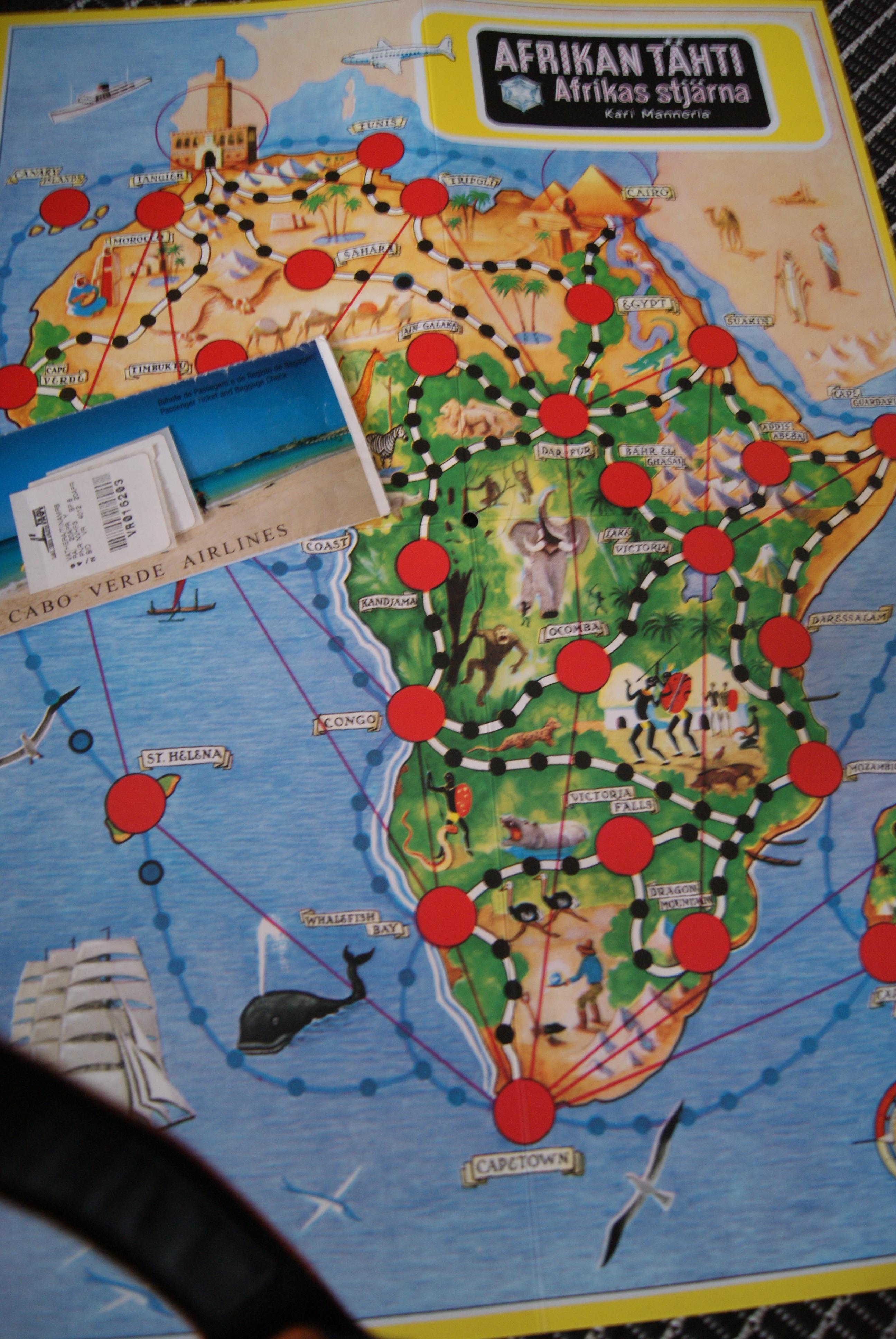 Afrikan Tahdella Miksi Rakastan Kaikkea Mika Liittyy