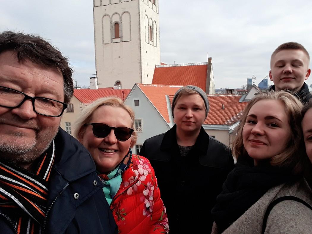 Perheemme kävi edellisen kerran kunnolla Tallinnassa, kun vanha rouva Venus täytti vuosia 2018 maaliskuussa.